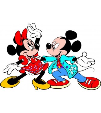 Mickey Mouse a Minnie 02