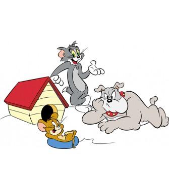 Tom, Jerry a Spike 01