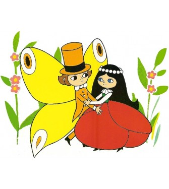 Maková panenka a motýl Emanuel 02