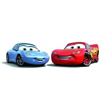 Blesk McQueen a Sally 01