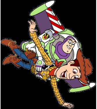Woody a Buzz Rakeťák 01