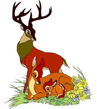 Bambiho rodinka 01